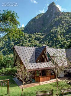 Reforma de chalé: jeito alpino e natureza agora em mais harmonia - Casa