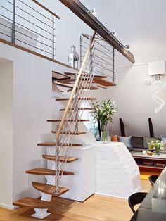 stairs design. -m  ::: 10 Duplex Interior Designs With A Swedish Touch