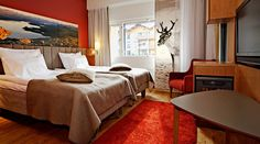 Have you ever overnight with a reindeer?  Break Sokos Hotel Levi - Kittilä - Lappi - hotelli - Hotel - Loimu House - Lapland - Finland
