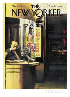 The New Yorker Cover - May 6, 1961 Regular Giclee Print by Arthur Getz - AllPosters.co.uk