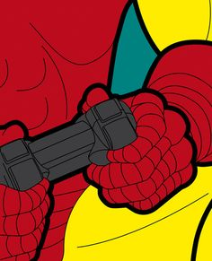 The secret life of heroes - IronGame Art Print by Greg-guillemin | Society6