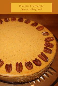 - Pumpkin Cheesecake