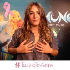 Pour #OctobreRose, faites comme @IziaMusic et rejoignez notre campagne #ToucheTesSeins (1/2)