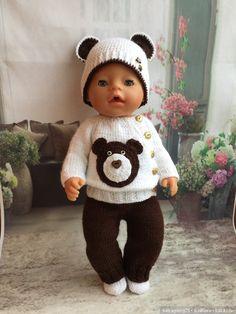 tricot poupon - ensemble ours