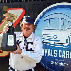 #RoyalsCaravan begins today and KayCee is bringing along the hardware! royals.com/caravan #Royals #ALChamps | royals.com
