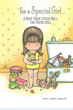 Joan Walsh Anglund Birthday Paper Doll by contrarymary, via Flickr