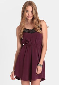 Sangria Sunset Lace Dress 34.00 at threadsence.com