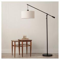 Pendant Floor Lamp Antique Brown