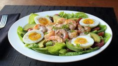 Grilled Shrimp Louie - Classic Louie Salad Dressing Recipe - All-Purpose Seafood Sauce - Find and Share Everyday Cooking Recipes Louie Salad Dressing Recipe, Salad Dressing Recipes, Salad Recipes, Salad Dressings, Appetiser Recipes, Pork Rib Recipes, Grilling Recipes, Cooking Recipes, Shrimp Recipes