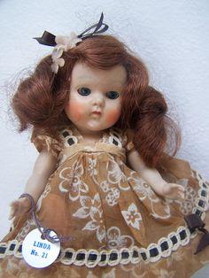 Vogue Doll Kindergarten series No.21 Linda Original Ginny Vintage 1950s