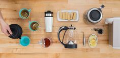 Must-have tools for tea lovers. I now wonder if 'life' is watching me, or actually 'listens.' I think it and there it is!