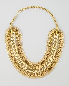 Multi-Chain Necklace by Karen London at Neiman Marcus.
