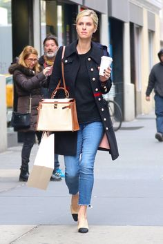Nicky Hilton - out for shopping in New York Blazer Jacket, Rain Jacket, Nicky Hilton, Paris Hilton, Office Wear, Hermes Kelly, Style Icons, Winter Outfits, Celebrity Style