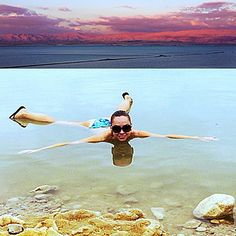 Mineral Beach, the Dead Sea, Israel | The 17 Most Stunning Places In The World To Take A Selfie