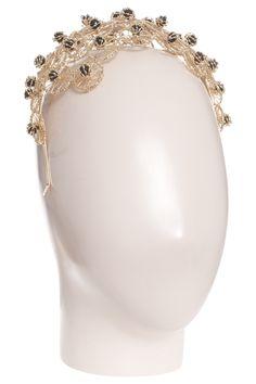 Ginevra Headpc With 24 Carat Brass