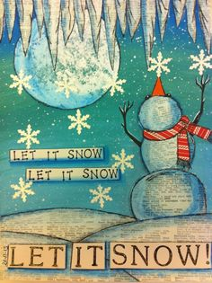 I hope this Christmas Art Journal Page spreads a warm glow of Christmas Spirit and creativity. I love Christmas. For more inspiration I have a blog where I s...