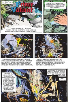 Prince Valiant Comic Strip for February 14, 2016