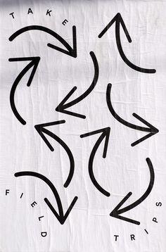 """future-archive:  Nolan Paparelli, Ficciones Typografika 807-809 (24""""x36""""). Installed on March 8, 2015. More on Ficciones Typografika."""