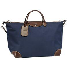 Sac de voyage Boxford - Bagages - taille cabine - Longchamp - Bleu -  longchamp. b99cc695b76