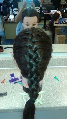 Four strand Dreadlocks, Hair Styles, Beauty, Beleza, Dreads, Hair Looks, Cosmetology, Hair Cuts, Hairdos