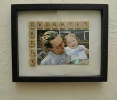Daddy daughter frame