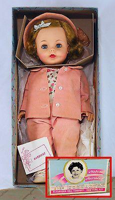 1961 Madame Alexander Doll JFKs Daughter Caroline (Kennedy) Mint in Box Complete