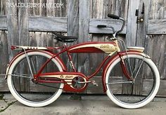 1953 Columbia Five Star Superb Vintage Bicycle Vintage Bicycles For Sale, Antique Bicycles, Bikes For Sale, Vintage Bikes, Vintage Menu, Bicycle Decor, Bicycle Design, Bike Illustration, Cruiser Bicycle