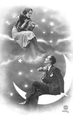 Una bella y romantica fotografia!
