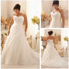 Elegant Design Beaded Sweetheart Custom Made Empire Waist Plus Size Wedding Dresses-in Wedding Dresses from Apparel & Accessories on Aliexpress.com | Alibaba Group