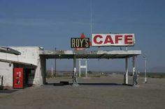 Desert gas station