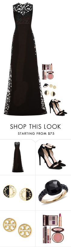 """Untitled #618"" by h1234l on Polyvore featuring Elie Saab, STELLA McCARTNEY, Chanel, Pomellato, Tory Burch and Charlotte Tilbury"