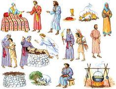 Abraham and Isaac Felt Story