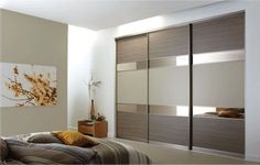 Our sliding bedroom furniture is the ultimate in fitted bedroom luxury, please take full advantage of our free sliding wardrobe design service. Bedroom Cupboard Designs, Wardrobe Design Bedroom, Luxury Bedroom Design, Bedroom Cupboards, Modern Bedroom, Interior Design, Diy Bedroom, Sliding Door Wardrobe Designs, Closet Designs