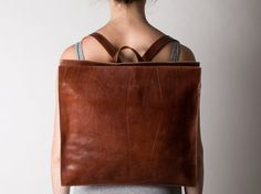 NEW YEAR SALE 30% off Brown Leather satchel women by Meckela