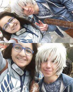 In #egycon  Met Jack frost  My fav character  He was so kawaiiiìh:'3 #jackfrost #riseoftheguardians  __ And I bought alot of things like that attack on titans sweatshirt  narutos head band  and pins  It was really amazing daayyyh ever  I took alot of pic with cosplayers they were so kind and kawaiiiiiihhhzej4ide ___ #art #followforfollow #otaku #otakugirl #anime #animedrawing #animecosplay #kawaii #cute #cosplay #manga  #leviackerman #like4like #animeartshelp #fairytail #tokyoghoul…