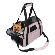 Jespet Portable Comfort 17 Inch and 19 Inch Soft Sided Pet Carrier Airline Travel Cat/Dog Small Animals Tote Bag *** Trust me, this is great! Click the image. (This is an amazon affiliate link. I may earn commission from it)