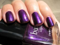 "Nails, Nail Polish, Nail Art / Butter London ""HRH"""