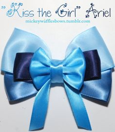 Kiss the Girl Ariel Hair Bow