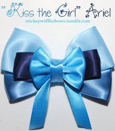 Kiss the Girl Ariel Hair Bow