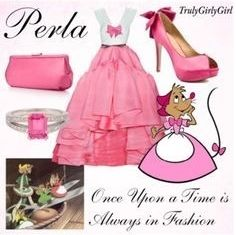 Disney Style: Perla, created by trulygirlygirl Disney Character Outfits, Disney Princess Outfits, Disney Themed Outfits, Disney Dresses, Disney Clothes, Disney Princesses, Disney Characters, Disney Bound Outfits Casual, Cute Outfits