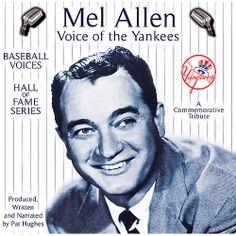 mel allen | Baseball Voices New York Yankees Mel Allen, Voice of the Yankees CD ...