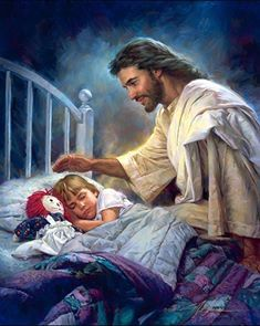 Jesus loves the little children. All the children of the world. They are precious in His sight. Jesus loves the little children of this world. Images Du Christ, Pictures Of Jesus Christ, Image Jesus, Jesus Painting, Jesus Christus, My Jesus, Christian Art, Christian Stories, Religious Art