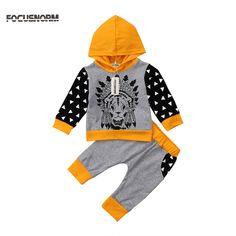 Toddler Kids Baby Boys Outfit Clothes V-Neck Vest T-Shirt+Short Pants 1Set