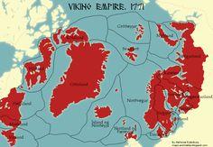 European History, World History, Vikings, Map Symbols, Map Diagram, Imaginary Maps, Country Maps, Mystery Of History, Alternate History