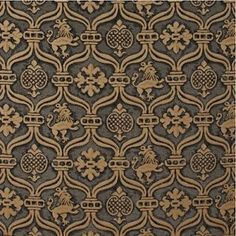 Brunschwig Gothic Rampart Figured Woven Upholstery Fabric ~ Remanufacture of ancient fabric Tile Design, Fabric Design, Medieval Gothic, Tudor Style, Celtic Art, Illuminated Letters, Fabric Wallpaper, Fabric Patterns, Damask