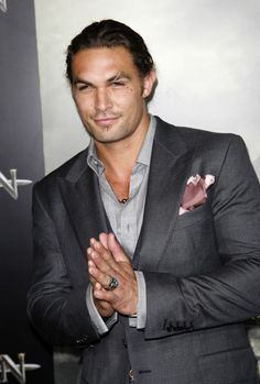 Jason Momoa as Gideon Cross.... oh man, i must agree with this one!!