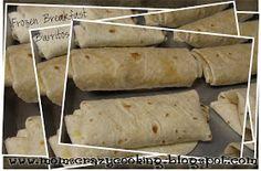 MOMS CRAZY COOKING: Frozen Breakfast Burritos: SECRET RECIPE CLUB