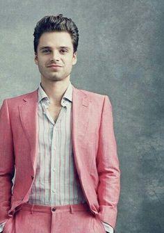 That is a nice suit colour