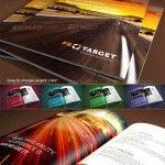 Splendidi progetti grafici di brochures e opuscoli