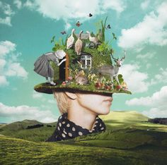 Surreal Collages Blend Vintage Elements to Create Intriguing Scenes - My Modern Met